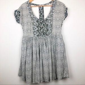 Free People Sundown babydoll dress